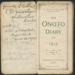Diary 1918
