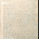 Copy book of war letters, May 1916 - July 1916