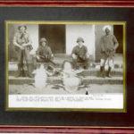 Alligator Xmas postcard - Stanley Pattison, Kenya 1915