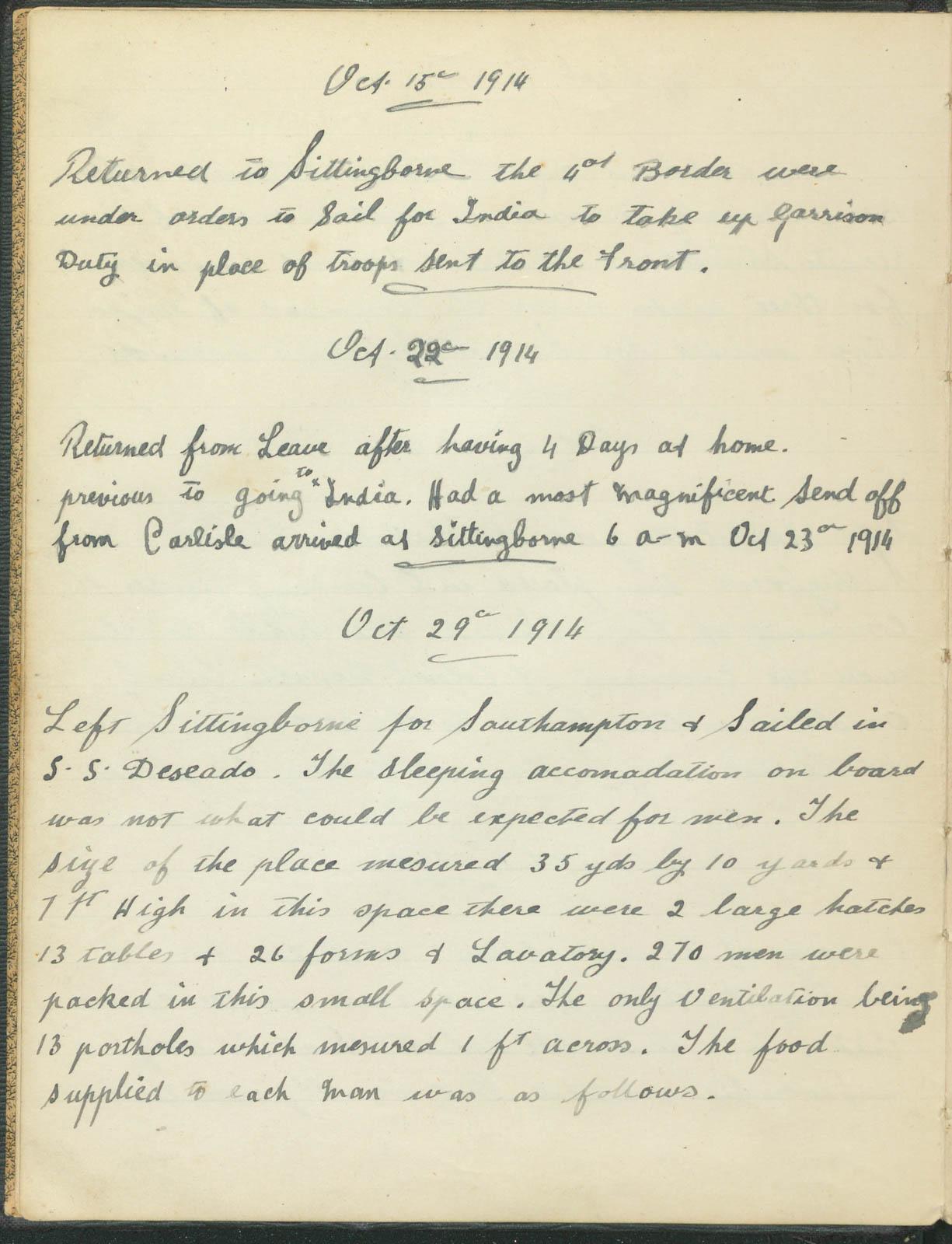 Harry Redgen's experience in Burma 1914-1916, item 6