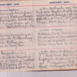 Trench diary of George Williams