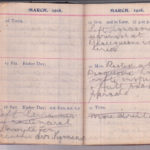 Trench diary of Charles Verity