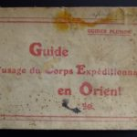Guide a l' usage de corps expeditionaire d' Orient