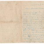 Brieven van soldaat Aimé Billiau aan zijn ouders in augustus 1914, item 2