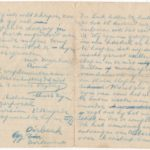 Brieven van soldaat Aimé Billiau aan zijn ouders in augustus 1914, item 3