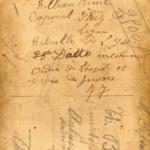 Brieven van soldaat Aimé Billiau aan zijn ouders in augustus 1914, item 6