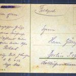 Feldpost von Richard Gänger aus dem Jahr 1915, item 2