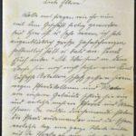Feldpost von Richard Gänger aus dem Jahr 1915, item 75