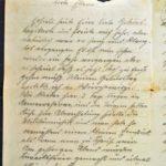 Feldpost von Richard Gänger aus dem Jahr 1915, item 112