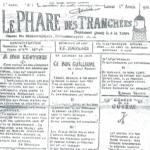 Journal de tranchées d'un soldat français