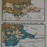 Χάρτες Ανατολικής Θράκης κατά την περίοδο του Α' Παγκοσμίου Πολέμου και φωτογραφία του κατόχου