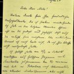 Berichte der Mitgefangenen von Alwin Metz über ihr Leben nach der Rückkehr aus Kriegsgefangenschaft, item 1
