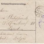 Soldaat Louis Philippaerts en diens schoonbroer Alfons Peelaerts in de Groote Oorlog, item 38