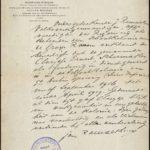 Carnet et correspondance de guerre d'un réfugié belge, item 7