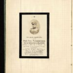Velddagboek Paul Vandenbussche met o.a. gedroogde klaproos, item 6