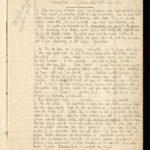 Velddagboek Paul Vandenbussche met o.a. gedroogde klaproos, item 7