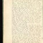 Velddagboek Paul Vandenbussche met o.a. gedroogde klaproos, item 8