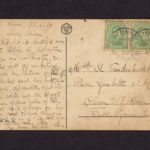Velddagboek Paul Vandenbussche met o.a. gedroogde klaproos, item 94