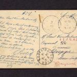 Velddagboek Paul Vandenbussche met o.a. gedroogde klaproos, item 108