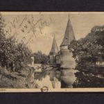 Velddagboek Paul Vandenbussche met o.a. gedroogde klaproos, item 123
