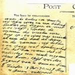 Correspondentie foto's die als kaarten zijn verstuurd