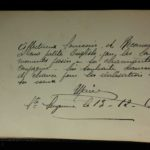 The autograph book of VAD Nurse May Benson and a portrait by Fred Brooke, item 90