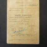 Carte d' identite/ Asteriades A.