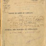 Journal des marches et operations