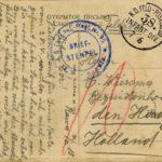 Drie ansichtskaarten en één Feldpostkarte van gebroeders Fischer, item 4