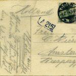 Drie ansichtskaarten en één Feldpostkarte van gebroeders Fischer, item 12