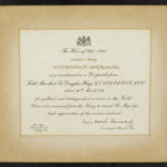 Framed certificate noting that JB MacLachlan was mentioned in Despatches