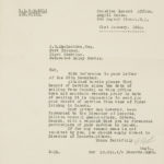 Correspondence from Canadian Record Office to JB MacLachlan re service
