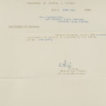 Correspondence re certificate of service to JB MacLachlan from Department of Militia and Defence, Ottowa