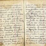 Carnet de guerre de Louis Le Beslour, item 8