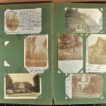 Postkartenalbum von Dr. med. Hans-August Wilbrandt