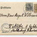 Postkartenalbum von Dr. med. Hans-August Wilbrandt, item 11