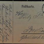 Postkarten an Fritz und Martha Pinsler nach Berlin, item 9