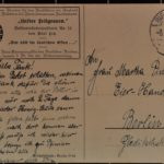 Postkarten an Fritz und Martha Pinsler nach Berlin, item 15