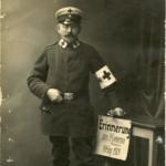 Fotos, Postkarte und Feldpostbrief von Robert Wolter (1871-1938)