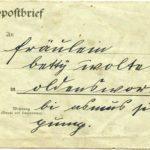 Fotos, Postkarte und Feldpostbrief von Robert Wolter (1871-1938), item 5