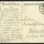 Kanonier Wilhelm Jochens vom 2. Pommerschen Feldartillerie-Regiment 17, item 38