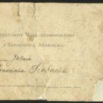Dokumenty mojego ojca Franciszak Szałacha