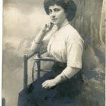 Zdjęcia oraz korespondencja z okresu 1905-1913 ze zdjeciami kobiet, item 75