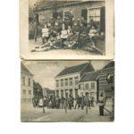 Ansichtkaarten van mijn grootvader gemobiliseerd in Brabant