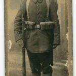 Fotos, Feldpostkarten und eine Urkunde von Gustav Voß, item 1