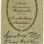 Fotos, Feldpostkarten und eine Urkunde von Gustav Voß, item 2