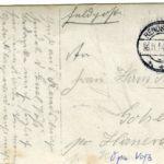Fotos, Feldpostkarten und eine Urkunde von Gustav Voß, item 12