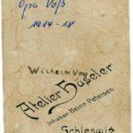 Fotos, Feldpostkarten und eine Urkunde von Gustav Voß, item 19