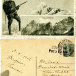 Carte postale italienne.
