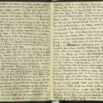 Abschrift der Kriegstagebücher von Sergeant Fritz Apsel, item 11